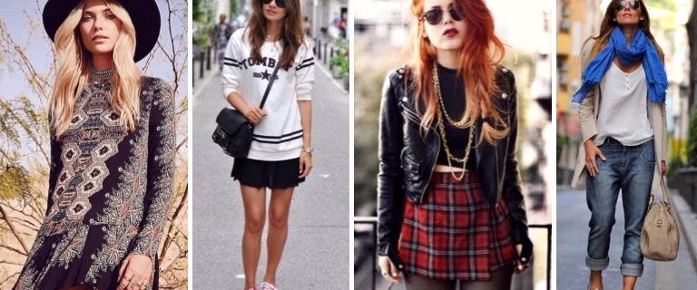 Современные стили одежды - классификация