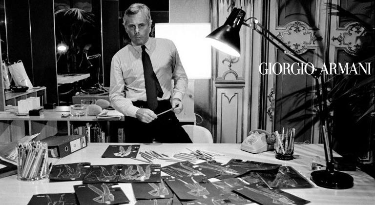 Armani - история бренда