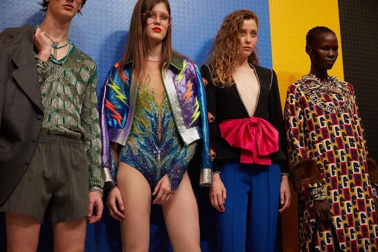 Коллекция Gucci весна-лето 2018