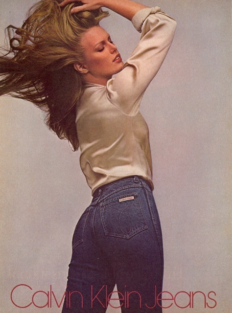 1979 Patti Hansen For Calvin Klein Jeans