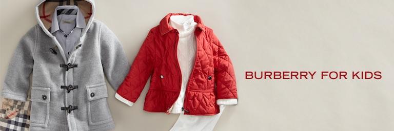 burberry детская одежда